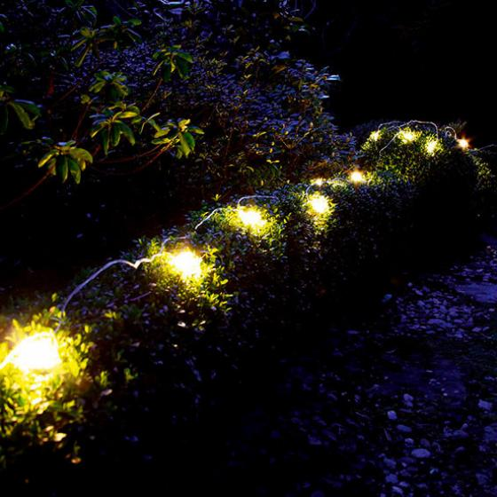 LED Solar-Lichterkette Moon Drops, 20-teilig | #2