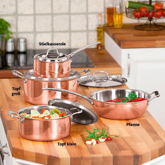 Kupfer-Stielkasserole   #2