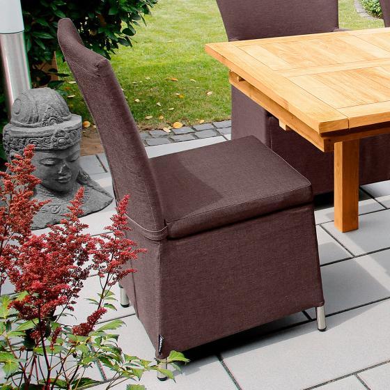 Outdoor Sessel Daisy ohne Armlehnen braun | #2