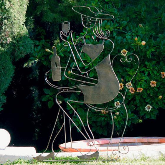 Rankhilfe Garten-Skulptur Bistro de Paris | #2