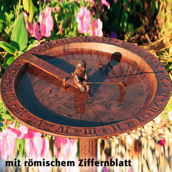 Vogelbad & Sonnenuhr Anglerglück | #2