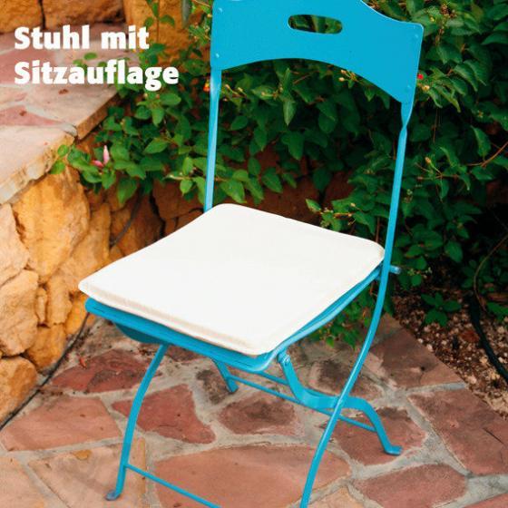 Bistro-Sitzgruppe, 2 Stühle + Tisch | #2