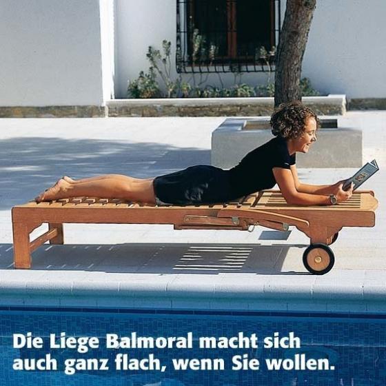 TEAK-Roll-Liege Balmoral | #2