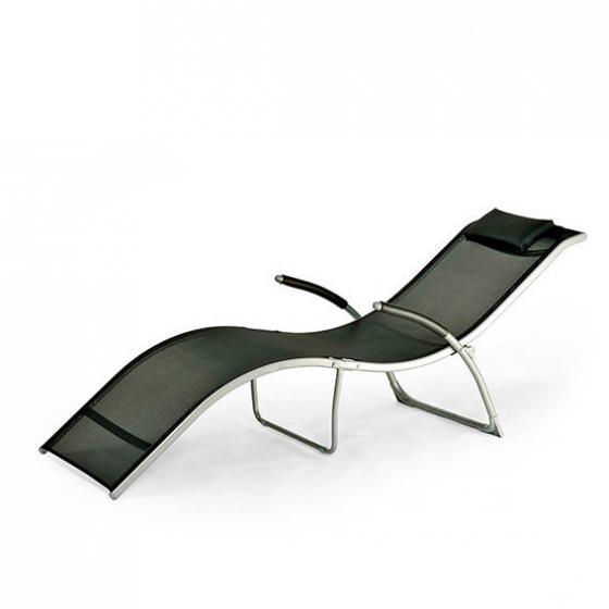 Lounge-Sonnenliege Malibu, schwarz | #2