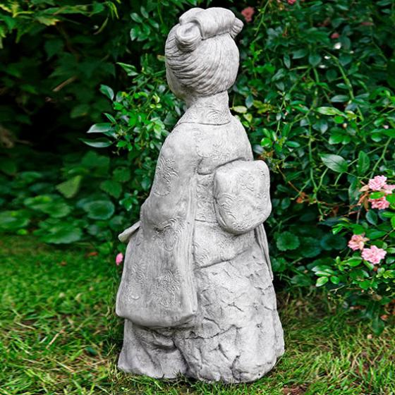 Garten-Steinfigur Geisha | #2