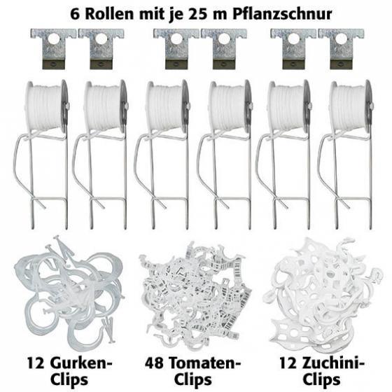 Pflanz- und Rankspule, Set mit 6 Rollen & Zubehör | #2