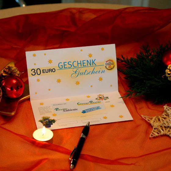 Gärtner Pötschkes Weihnachts-Gutschein 30,- Euro | #2
