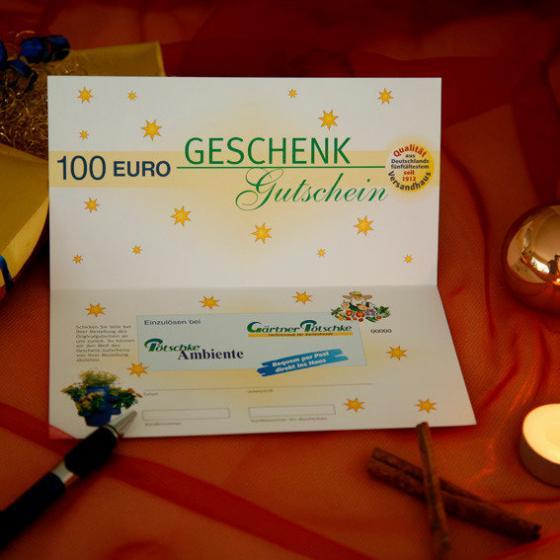 Gärtner Pötschkes Weihnachts-Gutschein 100,- Euro | #2