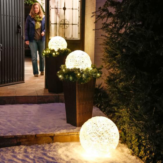LED-Kugel Winterglanz, klein | #3