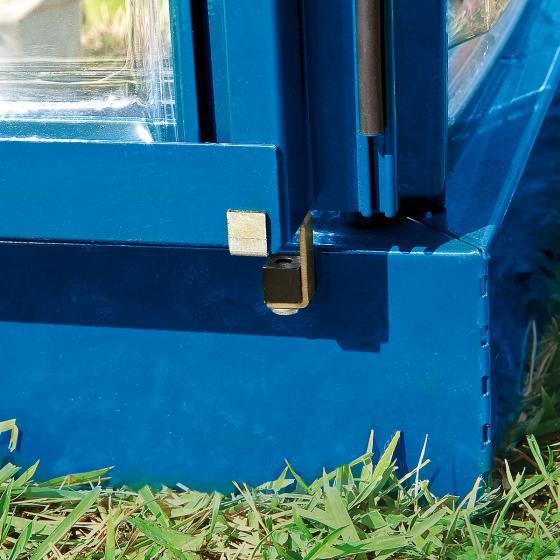 Gewächshaus Blue Line 6 x 10 inkl. Stahlfundament | #3
