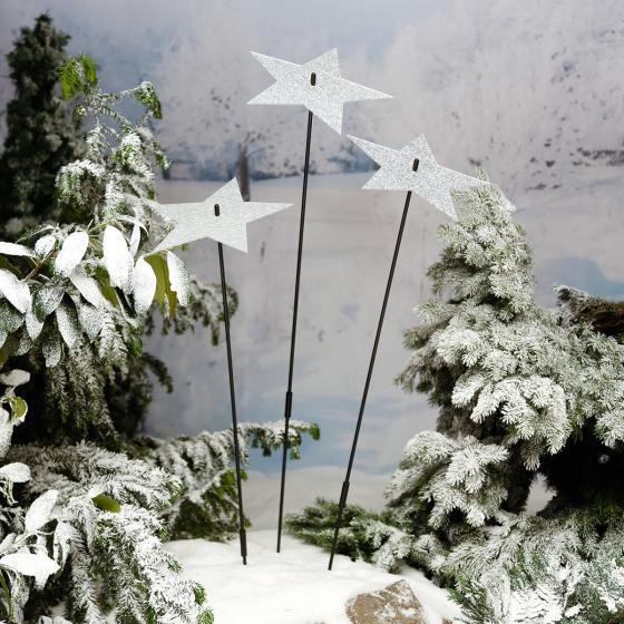 Gartenstecker Winterspiegel, groß | #3