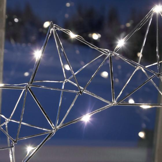 LED-Fensterleuchter Modern Christmas, 25 LEDs | #3