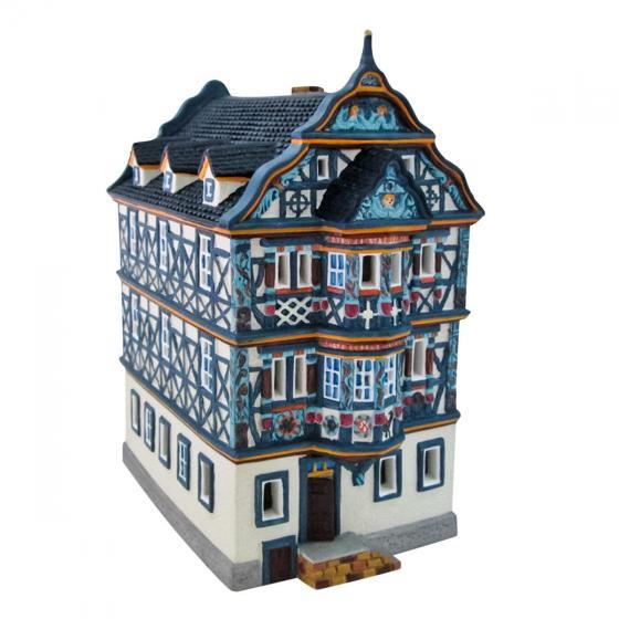 Miniatur-Weihnachtsdorf-Lichthaus Killingerhaus in Idstein,Taunus | #3
