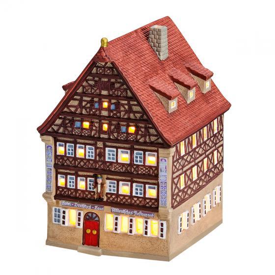 Miniatur-Lichthaus Deutsches Haus in Dinkelsbühl | #3