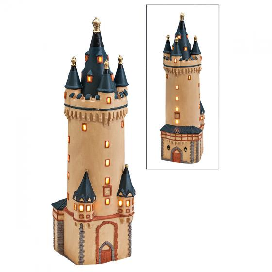 Miniatur-Lichthaus Eschenheimer Turm in Frankfurt | #3