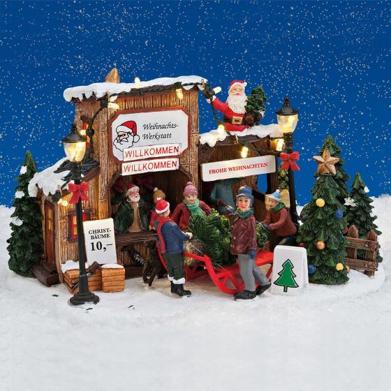 Miniatur-LED-Weihnachtsbaum-Verkauf   #3