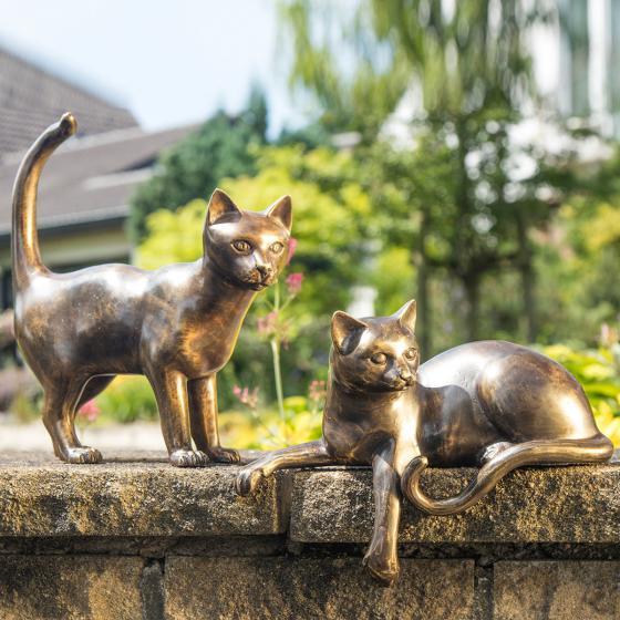 Bronze-Figur Katze Bastet | #3