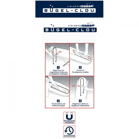 Bügelhilfe Bügel-Clou Edelstahl | #3