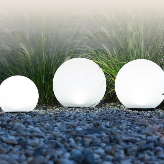 HEITRONIC® Solar LED-Kugeln Boule, 3er-Set, weiß | #3
