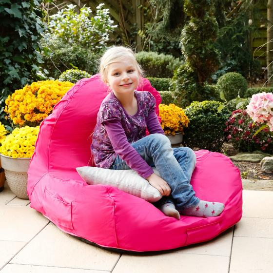 Sitzsack Flexi mit Sonnensegel, pink | #3