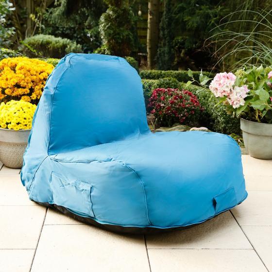 Sitzsack Flexi mit Sonnensegel, blau | #3