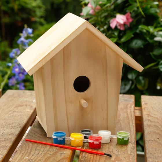 Vogelhaus zum Bemalen | #3