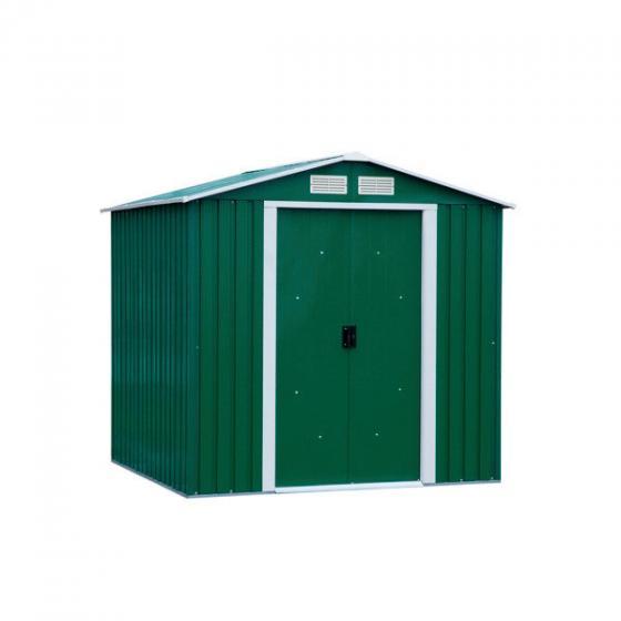 Metallgerätehaus Riverton 6x4 mit Giebeldach, grün | #3