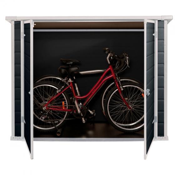 Bike & More Fahrrad- und Mülltonnenbox, anthrazit | #3