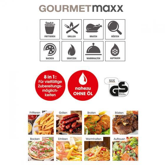 GOURMETmaxx Heißluft-Fritteuse | #3