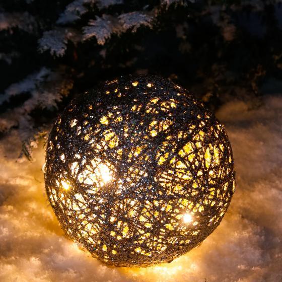 LED-Glitzerkugel Sternenstaub, mittel | #3