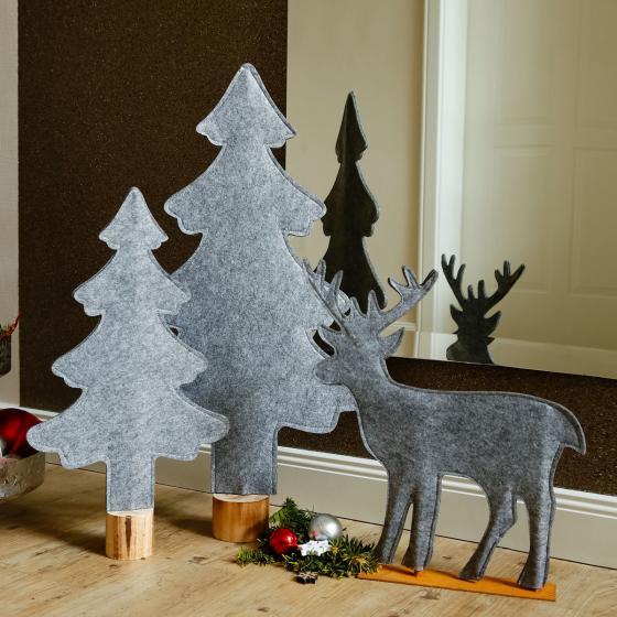 Filz-Weihnachtsbaum Winter Time, klein | #3