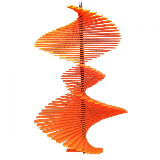 Acryl Windspiel Spirago, orange | #3