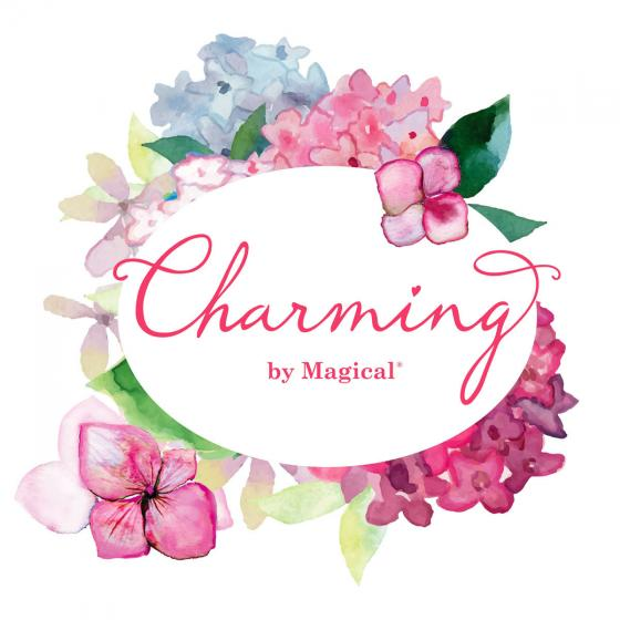 Ballhortensie Charming by Magical®, rot-weiß | #3