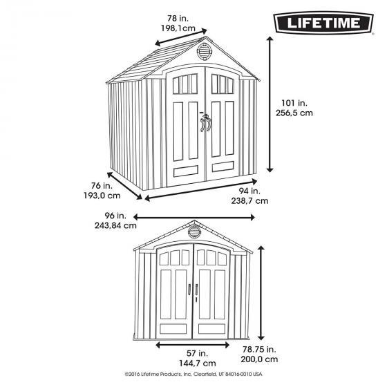 Lifetime Gerätehaus Herkules | #3