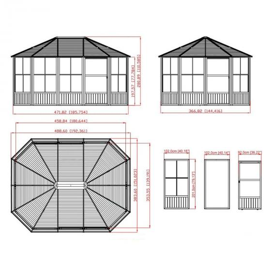 Pavillon Charleston 12x15 | #3