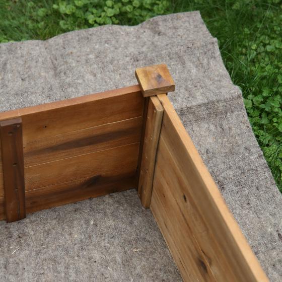 Hochbeetmatte aus Schafwolle, 200x120 cm | #3