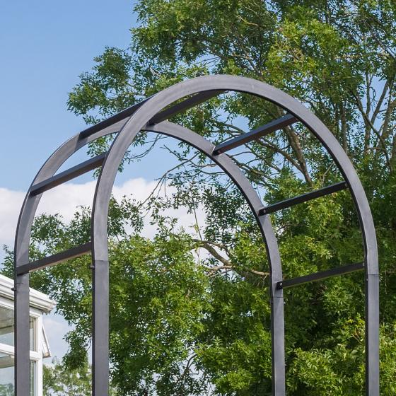Gartenbogen Antonia, 220 x 110 x 61 cm, Stahl, anthrazit | #3