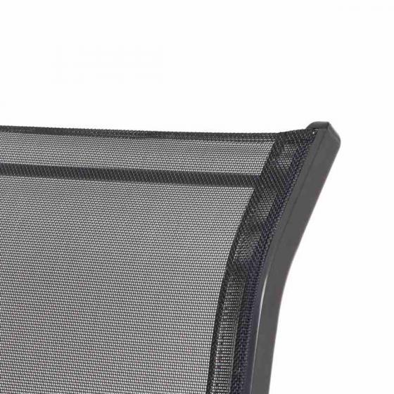 Stapelsessel Saturn, Aluminium, 96x55x75 cm, anthrazit | #3