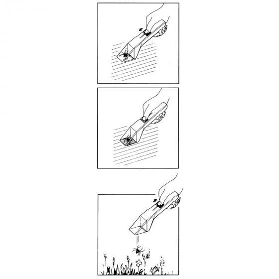 Insekten Snapy, 26,5 x 5 x 5 cm, Kunststoff, weiß-bunt | #3