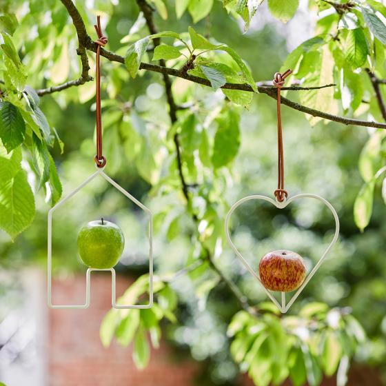 Burgon & Ball Design-Vogelhaus Sophie, 21x15 cm, weiß | #3