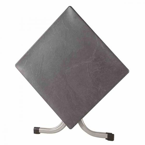 Siena Garden Slim Klapptisch, quadratisch, 72x80x80 cm, silber | #3