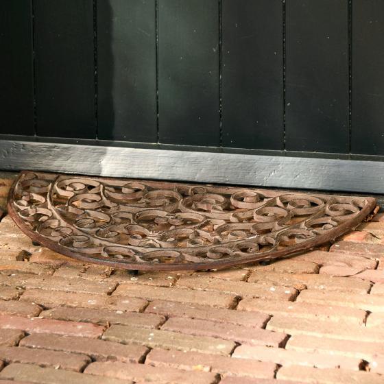 Fußmatte Viktoria, 2,3x40x69 cm, Gusseisen, braun | #3