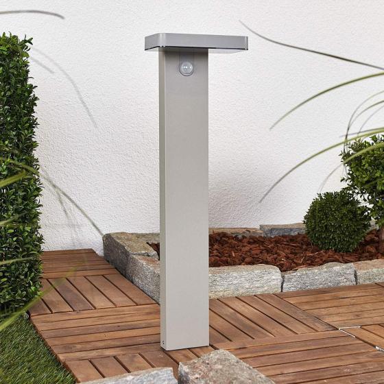 LED-Sockelleuchte Maik mit Bewegungsmelder, 60x18x13 cm, Kunststoff,  grau | #3