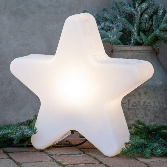 LED-Stern Gardenlight, 48x50x15 cm, Kunststoff, weiß | #3