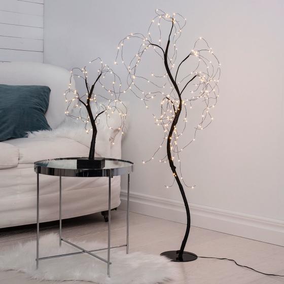 Star LED-Baum Willy, 40x25x20 cm, Kunststoff und Metall, schwarz | #3