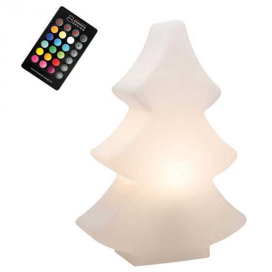 8 Season LED Shining Tree, 39x28x10 cm, Polyethylen, weiß | #3