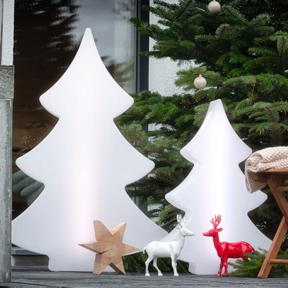 8 Season LED Shining Tree, 113x79x20 cm, Polyethylen, weiß | #3