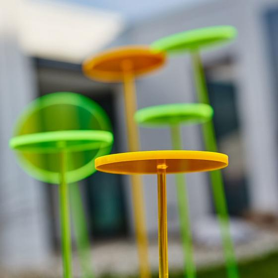 Swing Lights, 76x10x10 cm, Acrylglas, grün | #3