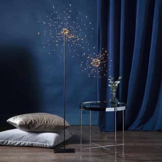 Star LED-Standleuchte Firework, 50x26x26 cm, Metall, schwarz | #3