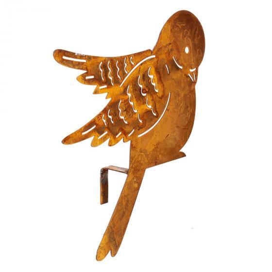 Zaundeko, Vögel 5er-Set,6-15x16-19 cm, Metall | #3